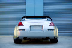 Sports Car. The rear of a Nissan Sports Car Stock Photo