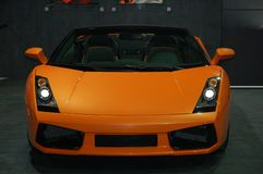 Sports car. Lamborghini Gallardo Spider sports car stock image
