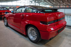 Sports car Alfa Romeo SZ Sprint Zagato or ES-30, 1991. Royalty Free Stock Photos