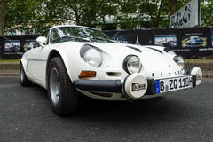 Sports car Alpine A110 Berlinette, 1976 Stock Images