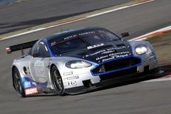 Sports Car,Aston Martin DB9(FIA GT). FIA GT1 World Championship, Aston Martin DB9, August 27th. 2010. GERMANY, Circuit Nurburgring Royalty Free Stock Image