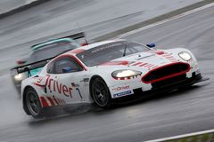 Sports Car,Aston Martin DB9(FIA GT) Stock Image
