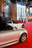 Sports Car At The Auto Show Royalty Free Stock Photography