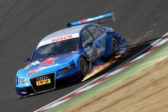 Sports Car,Audi A4 DTM 08(DTM) Royalty Free Stock Photo