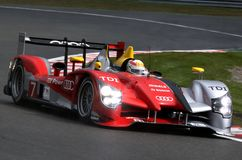 Sports car,Audi R15 TDI(LMS) Stock Photos