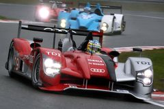 Sports Car,Audi R15 TDI(LMS) Royalty Free Stock Photo