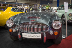 Sports car Austin-Healey 3000 Mark III Phase II, 1967 Royalty Free Stock Images