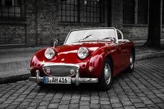 Sports car Austin-Healey Sprite Mk I Royalty Free Stock Photos