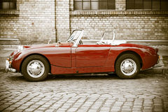 Sports car Austin-Healey Sprite Mk I Royalty Free Stock Images