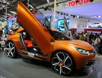Sports car at the auto show Stock Image