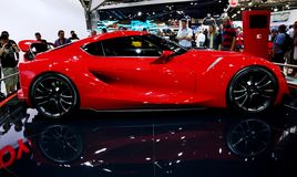 Sports car at the auto show Stock Images