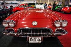 Sports car Chevrolet Corvette (C1), 1960 Stock Photo