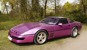 Sports Car Chevrolet Corvette Stock Photo
