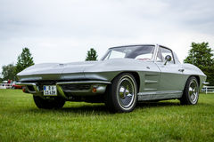 Sports car Chevrolet Corvette Sting Ray Coupe. Stock Images