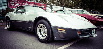Sports car Chevrolet Corvette Stingray Coupe Royalty Free Stock Image
