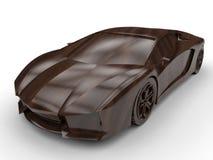 Sports car concept Stock Photos