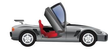 Sports Car, Convertible, illustration Royalty Free Stock Photography