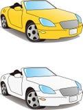 Sports car, convertible Stock Image