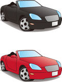 Sports car, convertible Royalty Free Stock Photography