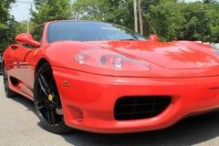 Sports car corner shot Royalty Free Stock Image