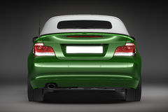 Green Sports car.  3d render. Sports car.  3d render. See my other works in portfolio Royalty Free Stock Images
