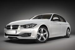 Sports car.  3d render Royalty Free Stock Photos