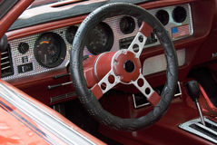 Sports car dashboard Royalty Free Stock Photography