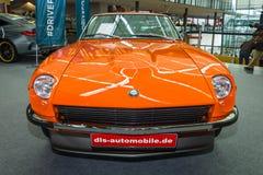 Sports car Datsun 240Z Nissan S30, 1971. Royalty Free Stock Photos