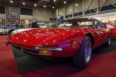 Sports car De Tomaso Pantera stock image