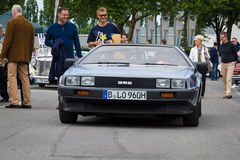 Sports Car DeLorean DMC-12 Royalty Free Stock Photos