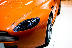 Sports car detail Stock Photo