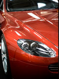 Sports car details Stock Photography