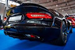 Sports car Dodge SRT Viper GTS Coupe, 2014. stock image