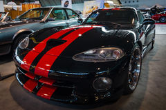 Sports car Dodge Viper GTS, 1999. Stock Image