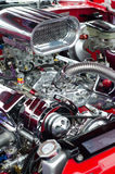 Sports car engine Royalty Free Stock Photography