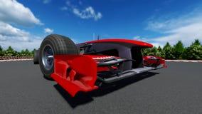 Sports car F1 royalty free stock photo