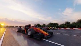 Sports Car F1 Stock Photo
