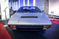 Sports car Ferrari Dino 308 GT 4, 1974. Royalty Free Stock Photos