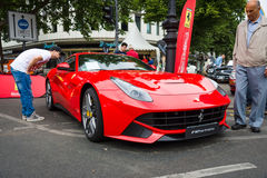 Sports car Ferrari F12berlinetta (since 2012) Royalty Free Stock Photo
