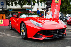Sports car Ferrari F12berlinetta (since 2012). Stock Image