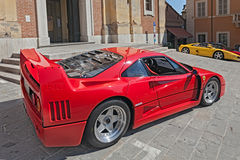 Sports car Ferrari F40 Royalty Free Stock Photography