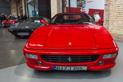 Sports car Ferrari F355 Spider (Type F129) Stock Photography