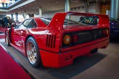 Sports car Ferrari F40, 1989 stock photography