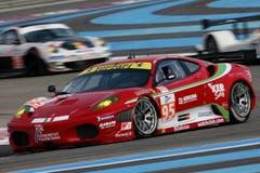 Sports Car,Ferrari F430 GT(LMS). Le Mans Series race, Circuit LE CASTELLET(FRANCE); April 10th 2010. Ferrari F430 GT,#AF CORSE Stock Photo