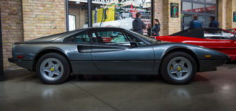 Sports car Ferrari 308 GTB Royalty Free Stock Photography