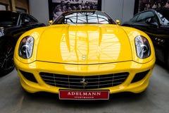 Sports car Ferrari 599 GTB Fiorano, 2008. royalty free stock images