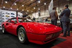 Sports car Ferrari GTB Turbo, 1987 Royalty Free Stock Photography