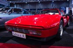 Sports car Ferrari 328 GTS (Gran Turismo Spider), 1989. Stock Photo
