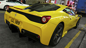 Sports car Ferrari Stock Photography