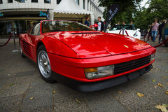 Sports car Ferrari Testarossa (Type F110) Stock Photos